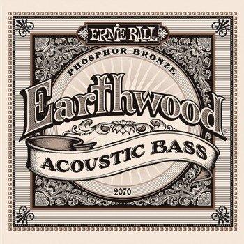 struny do gitary basowej akustycznej ERNIE BALL EB2070 Earthwood, Phosphor Bronze /045-95/