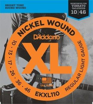 struny do gitary elektrycznej D'ADDARIO EKXL110 /010-046/