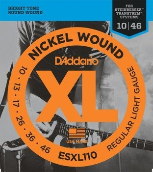 struny do gitary elektrycznej D'ADDARIO ESXL110 /010-046/