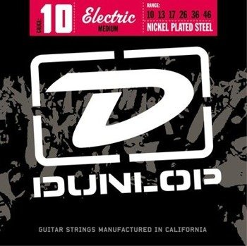 struny do gitary elektrycznej JIM DUNLOP - NICKEL WOUND DEN1046 /010-046/