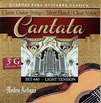 """struny do gitary klasycznej MEDINA ARTIGAS 3G """"Cantata"""" Light Tension 640"""