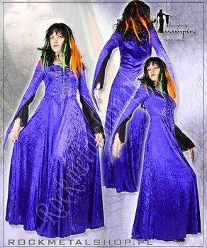 suknia SANDRA purpura [GT320] Laughing Vampire