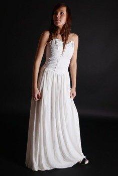 suknia WEDDING BROKAT WHITE (A-5-31-040-01)