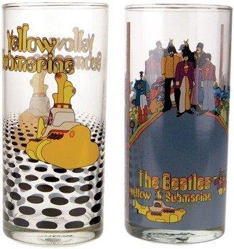 szklanki THE BEATLES - YELLOW SUB (komplet - 2szt)