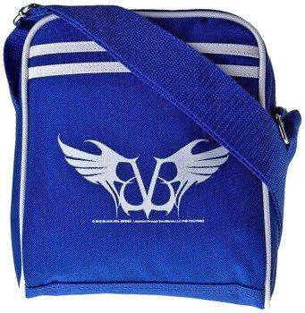 torba mała na ramię BLACK VEIL BRIDES - LOGO (BLUE)