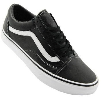 trampki VANS - OLD SKOOL AGED LEATHER BLACK