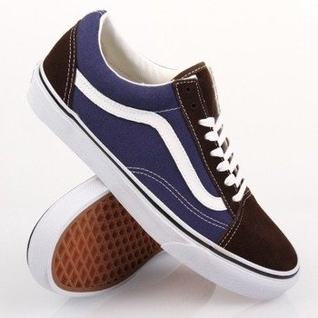 trampki VANS - OLD SKOOL VINTAGE BROWN ESTATE