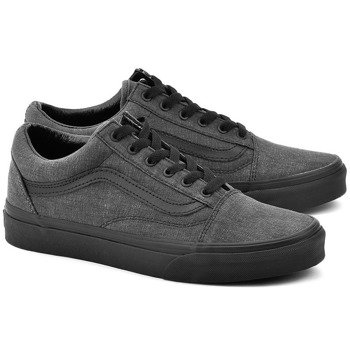trampki VANS - OLD SKOOL WASHED BLACK BLACK