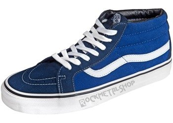 trampki VANS - SK8 MID REISSUE SUEDE DRESS BLUES