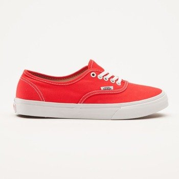 trampki damskie VANS  - AUTHENTIC SLIM FIERY RED TRUE WHITE