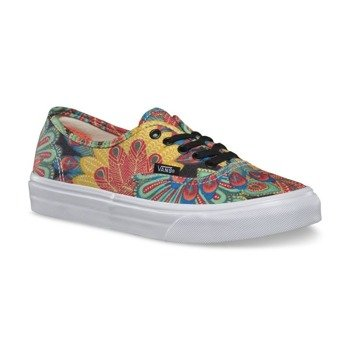 trampki damskie VANS - AUTHENTIC SLIM PEACOCK TRUE WHITE