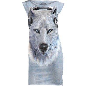 tunika THE MOUNTAIN - WHITE WOLF DJ