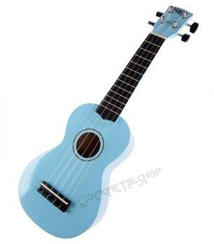 ukulele sopranowe KORALA jasnoniebieskie + pokrowiec
