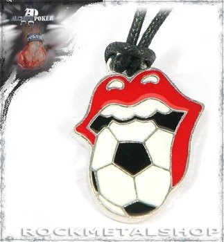 wisior THE ROLLING STONES - FOOTBALL PENDANT