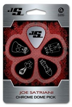 zestaw kostek JOE SATRIANI - CHROME DOME JSCD-01