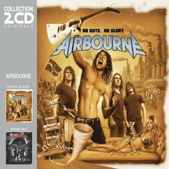 AIRBOURNE: NO GUTS, NO GLORY/ RUNNIN' WILD (2CD)