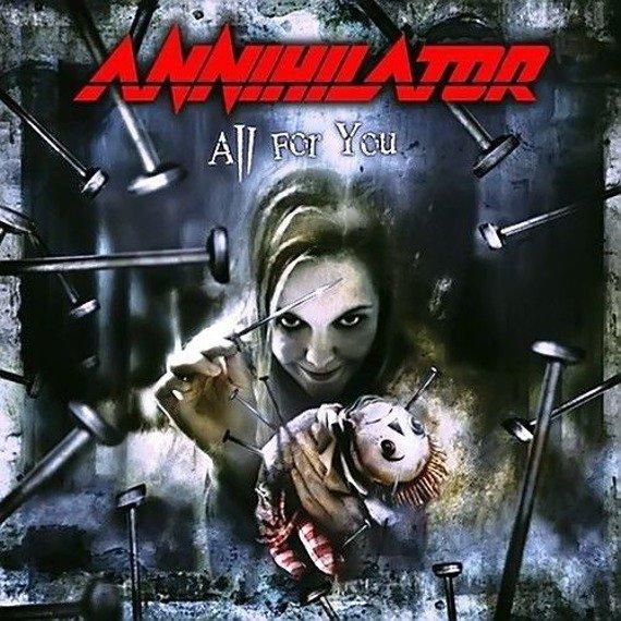 ANNIHILATOR: ALL FOR YOU (CD)