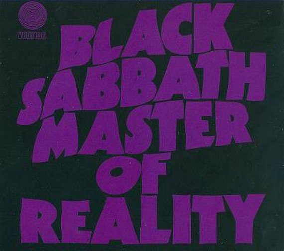 BLACK SABBATH: MASTER OF REALITY (CD) REMASTER