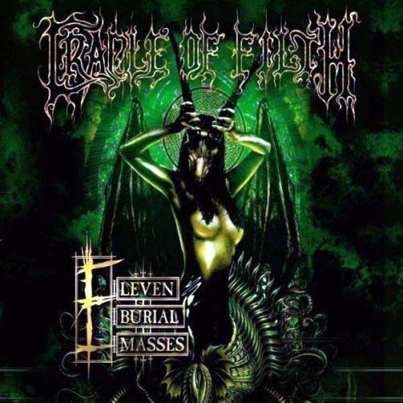 CRADLE OF FILTH: ELEVEN BURIAL MASSES (CD/DVD)