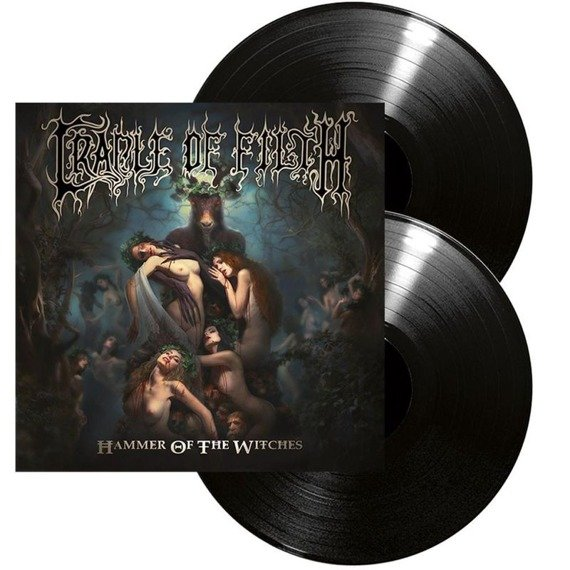 CRADLE OF FILTH: HAMMER OF THE WITCHES (2LP VINYL)
