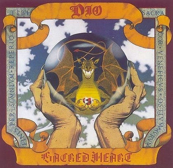 DIO: SACRED HEART (CD)