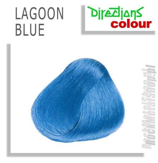 FARBA DO WŁOSÓW DIRECTIONS - LAGOON BLUE