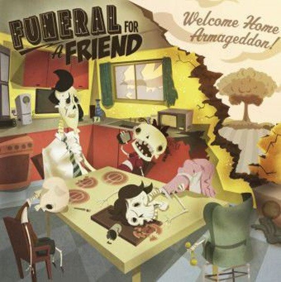 FUNERAL FOR A FRIEND: WELCOME HOME ARMAGEDDON! (CD)