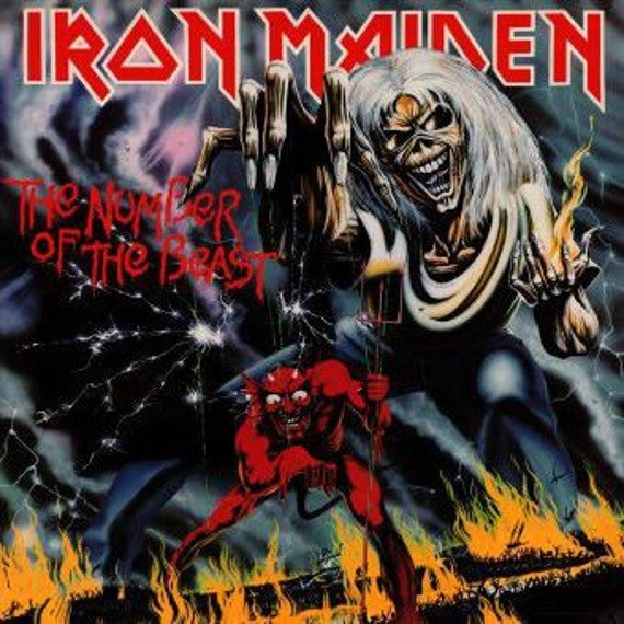 IRON MAIDEN: THE NUMBER OF THE BEAST (LP VINYL)