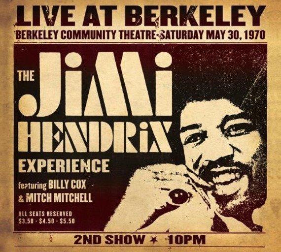 JIMI HENDRIX EXPERIENCE: LIVE AT BERKELEY (CD)
