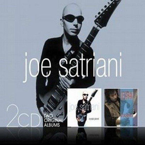JOE SATRIANI : CRYSTAL PLANET / NOT OF THIS EARTH (CD)