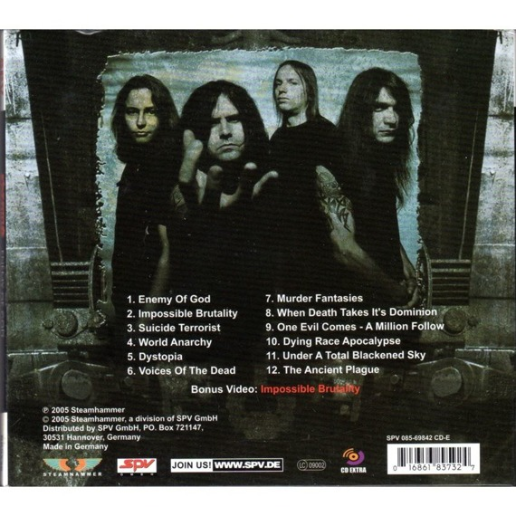 KREATOR: ENEMY OF GOD (CD)