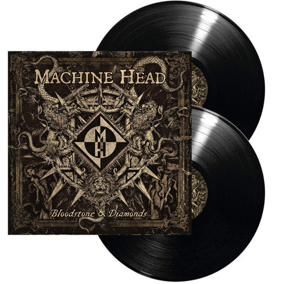 MACHINE HEAD: BLOODSTONE & DIAMONDS (LP VINYL)