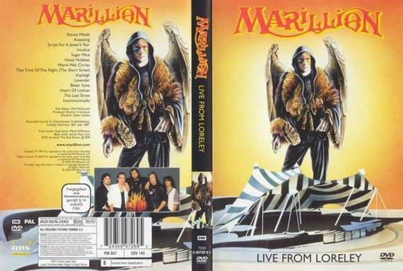 MARILLION: LIVE FROM LORELEY (DVD)