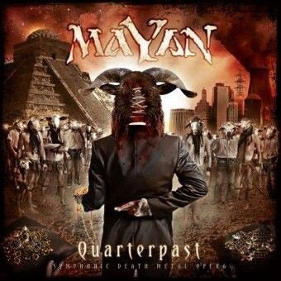 MAYAN: QUARTERPAST (CD)