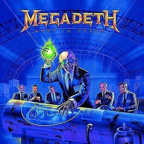 MEGADETH: RUST IN PEACE (CD)