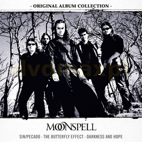 MOONSPELL : ORIGINAL ALBUM COLLECTION (3CD)