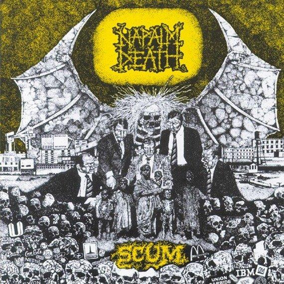 NAPALM DEATH: SCUM (CD)