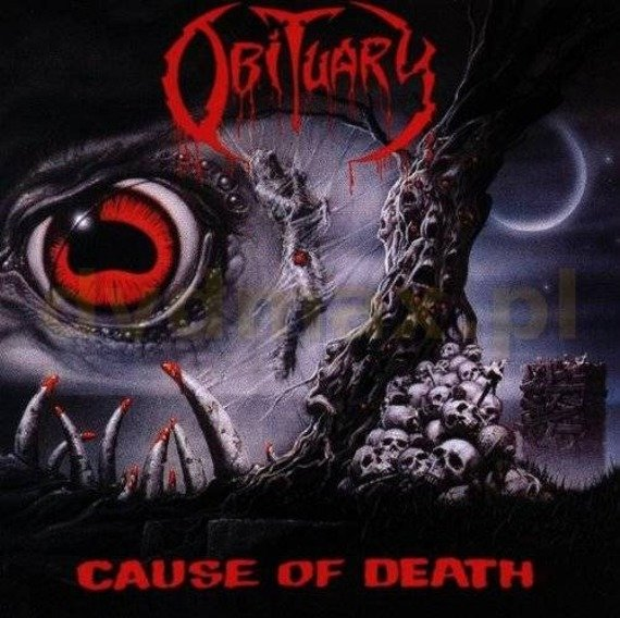 OBITUARY: CAUSE OF DEATH (LP VINYL)
