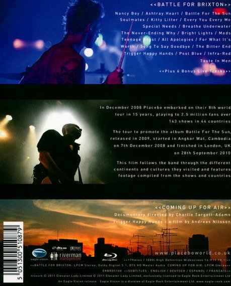 PLACEBO: WE COME IN PIECES (BLU-RAY)