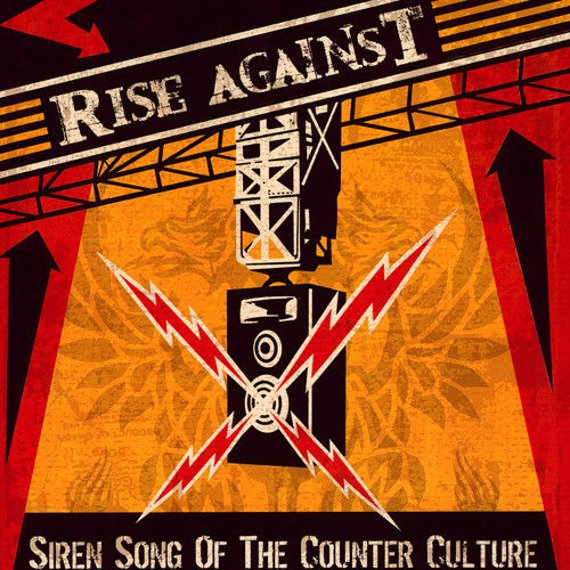 RISE AGAINST: SIREN SONG OF THE COUNTER CULTURE (CD)