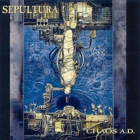 SEPULTURA : CHAOS A.D. (LP VINYL)