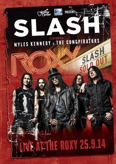 SLASH: LIVE AT THE ROXY 25.9.14 (DVD)