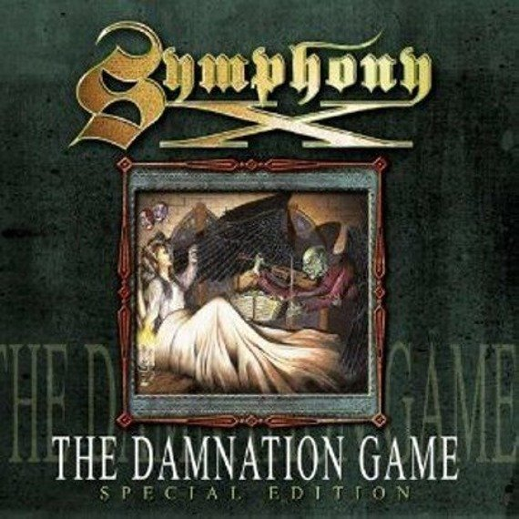 SYMPHONY X: THE DAMNATION GAME (LP VINYL)
