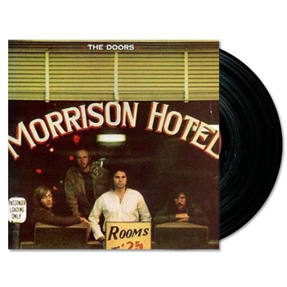 THE DOORS: MORRISON HOTEL (LP VINYL)