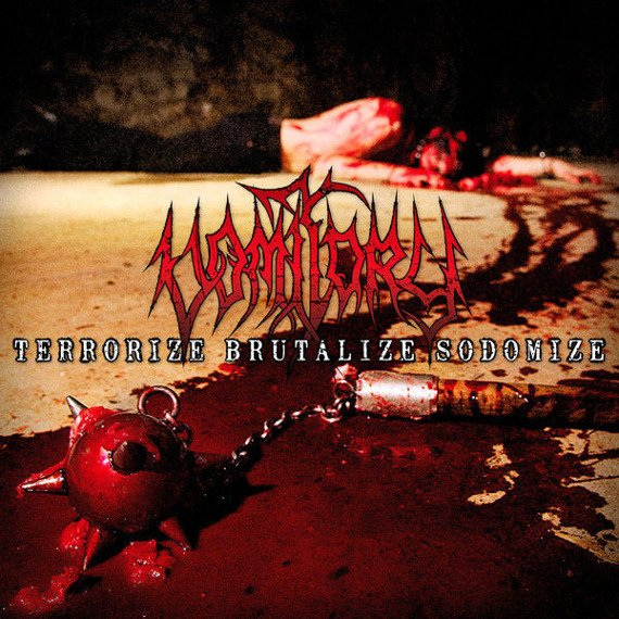 VOMITORY: TERRORIZE BRUTALIZE SODOMIZE (CD)