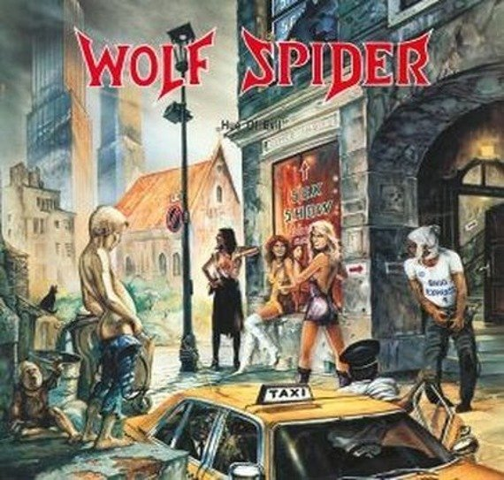WOLF SPIDER: HUE OF EVIL (CD)