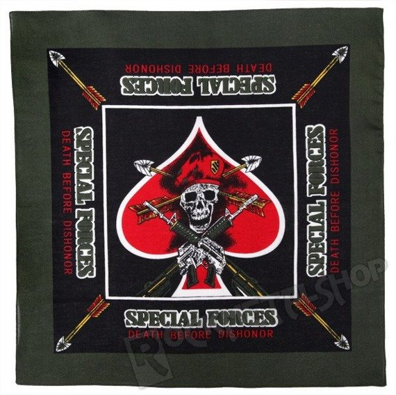 bandana SPECIAL FORCES DEATH BEFORE DISHONOR
