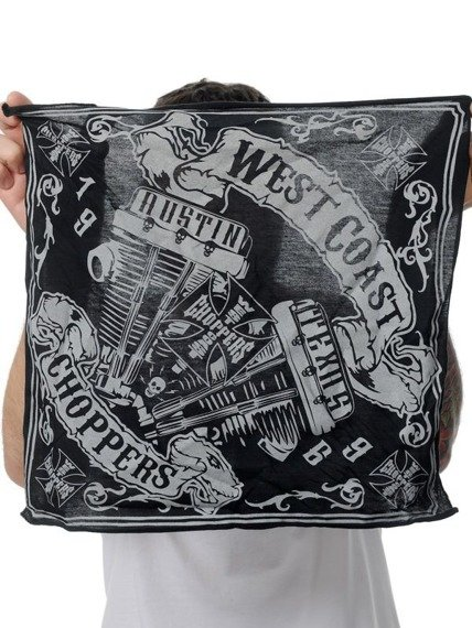 bandana  WEST COAST CHOPPERS - ENGINA PANHEAD