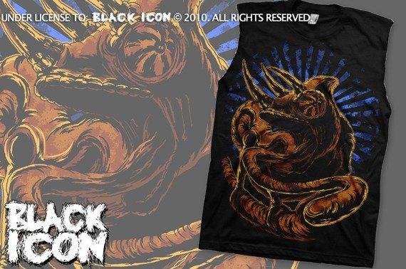 bezrękawnik BLACK ICON - CHAMELEON (BRICON006)