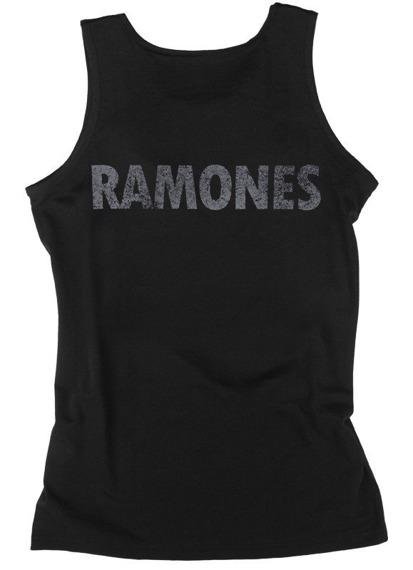 bezrękawnik RAMONES - LOGO